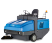 ISAL 160 ride-on sweeper